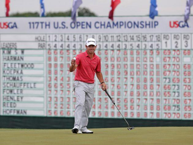 Brian Harman Leads, Justin Thomas Breaks US Open Record