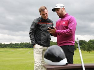 TaylorMade M Woods Fitting: 6-Hcap Craig Thomson