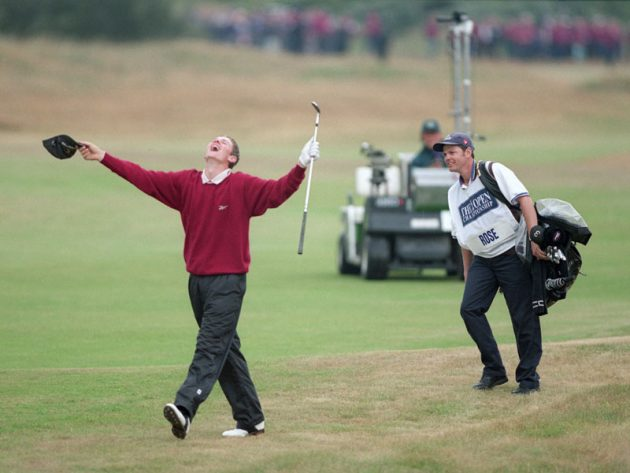 Justin rose and the open
