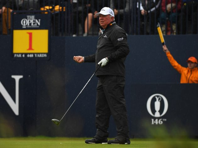 British Open : Spieth delighted with start