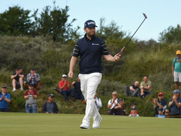 Branden Grace makes golf history