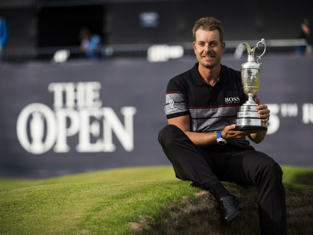 Defending Open champion Henrik Stenson's rental home burglarized on Thursday