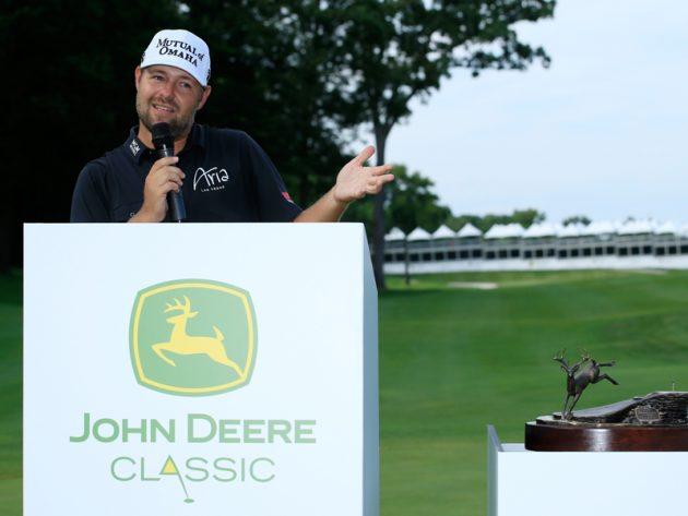 Ryan Moore defends John Deere Classic