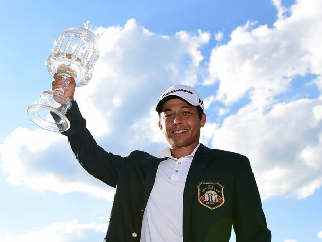 Xander Schauffele wins The Greenbrier Classic