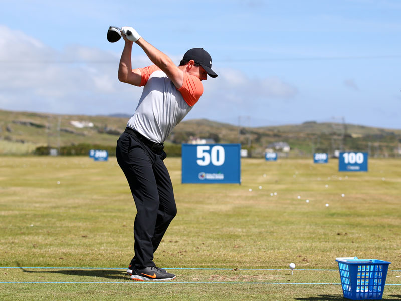 Rory McIlroy's 30-Minute Warm-Up For Golf