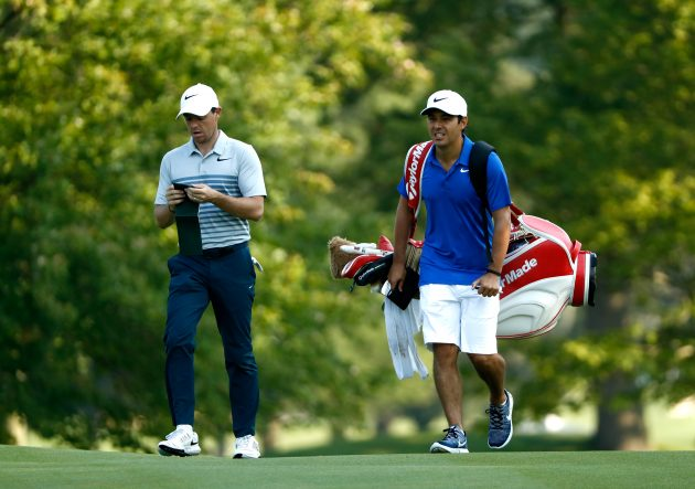 rory mcilroy shoots three under with new caddie Who Is Rory McIlroy's New Caddie Harry Diamond?