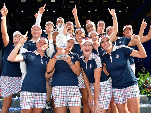 USA Wins Solheim Cup