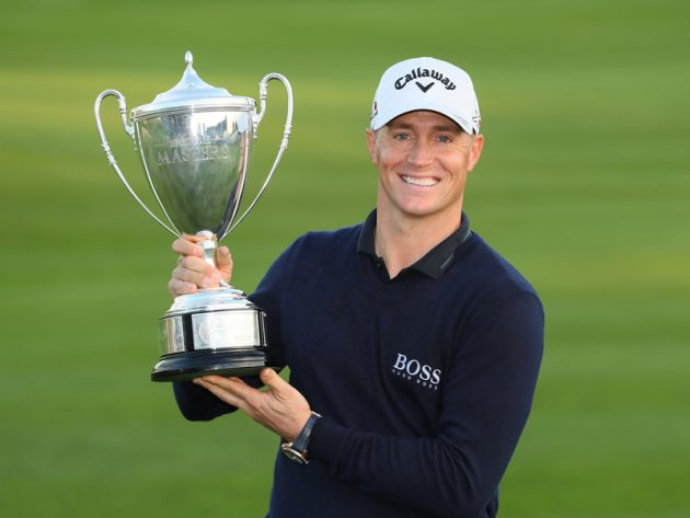 Alex Noren defends British Masters
