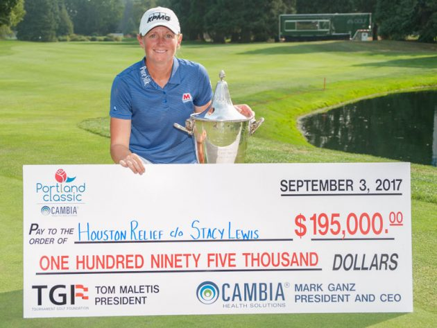 Stacy Lewis Wins And All $195,000 Goes To Houston Fund