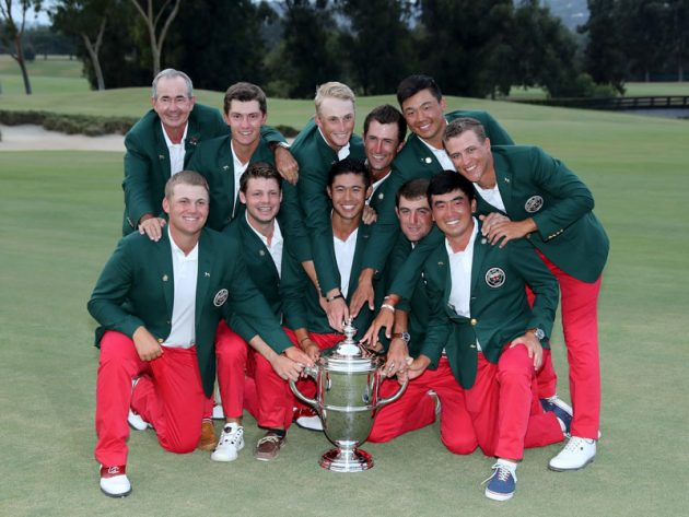 Morikawa, Xiong lead U.S. to 8-4 lead in Walker Cup