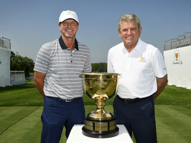 Presidents Cup captains Steve Stricker and Nick Price