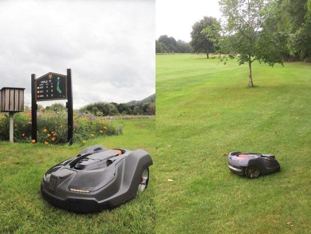 Robot Greenkeeper