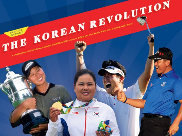 why are south koreans so good at golf?