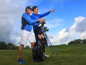 can a european tour caddie save you shots?