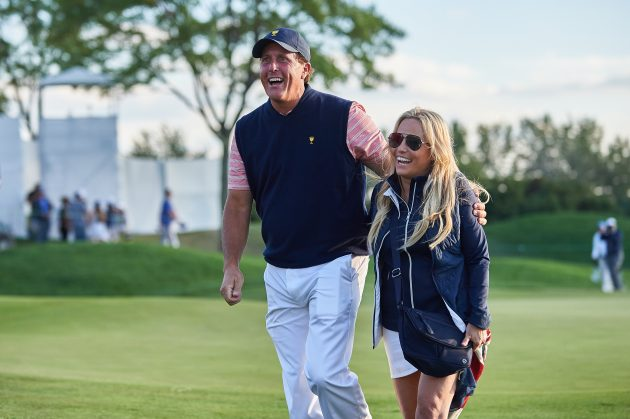 Team Usa Wags Celebrate Presidents Cup Victory Golf Monthly
