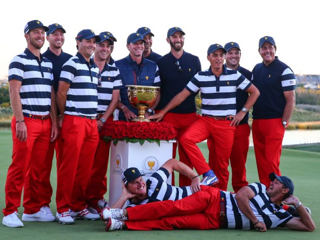 Team USA wins Presidents Cup