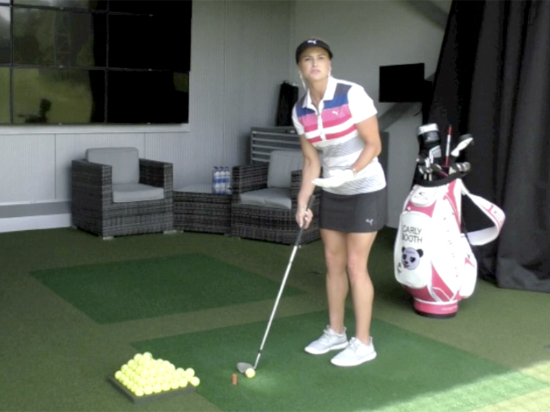 Golf Warm-Up Drills With Carly Booth