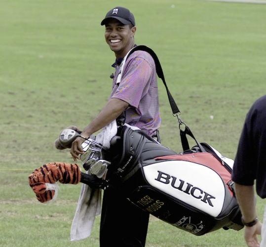 tiger woods u2019 golf gear down the years