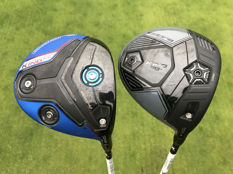 driver test  cobra king f8  v f7  golf monthly gear test
