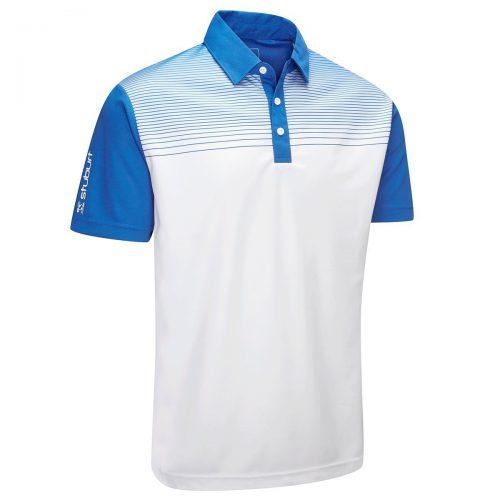 950d3a7a Stuburt Mens 2018 Endurance Faded Stripe Polo Shirt, Best Golf Polo Shirts  2018