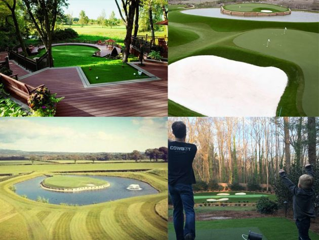 16 Of The Coolest Back Garden Golf Setups