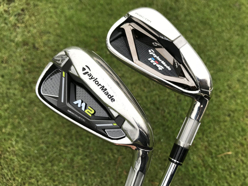 Taylormade Golf Bag >> Gear Test: TaylorMade M2 v M4 Irons - Golf Monthly