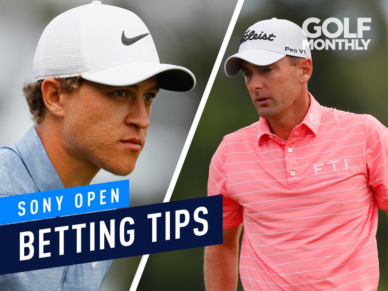 sony open golf betting tips