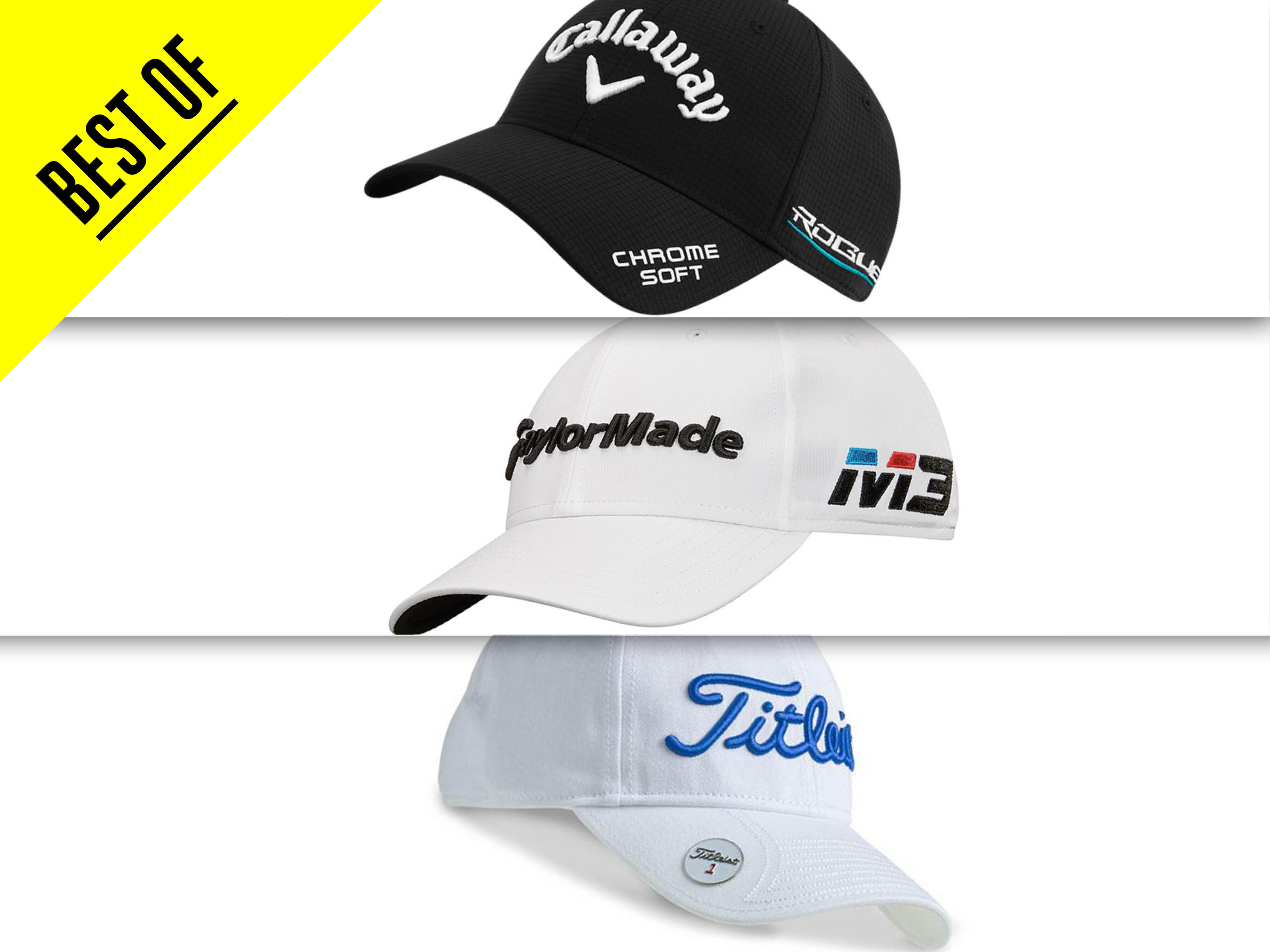 5385fc832 10 Of The Best Golf Caps 2018 - Check out the different styles