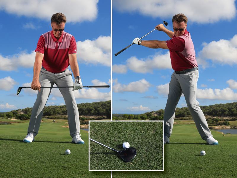 Stabilize your swing for better fairway wood strikes