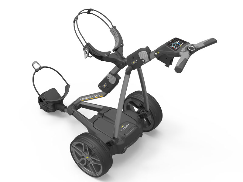2018 PowaKaddy Freeway Electric Trolley Range Unveiled
