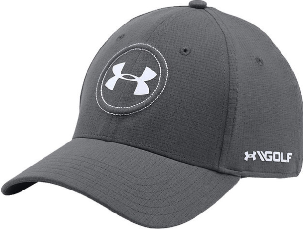 4d4463b3586 Coming in a variety of colours this cap has a HeatGear sweatband and  ArmourVent mesh panels to give excellent breathability. Worn by Jordan  Spieth