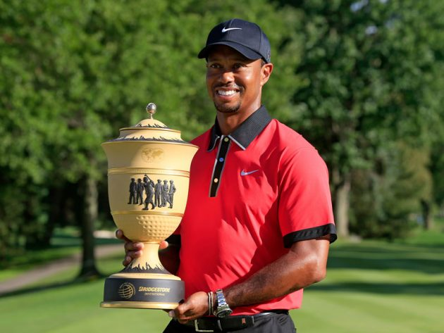 Woods' last win came at the 2013 WGC-Bridgestone Invitational