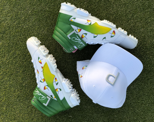 Fowler will wear the  dancing umbrellas  hi-tops as well as this hat 63a0b476d249
