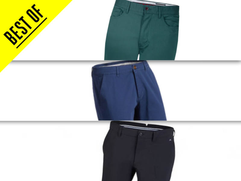 Best Golf Trousers 2018