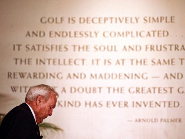 Arnold Palmer Quotes Mesmerizing 48 Of The Best Arnold Palmer Quotes Golf Monthly