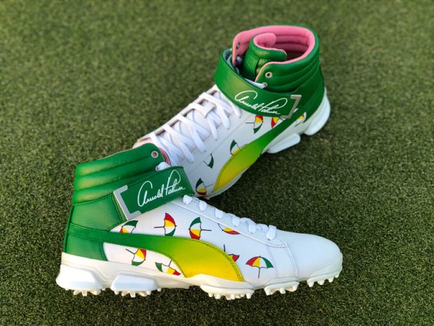 Rickie Fowler To Wear Custom Arnold Palmer Hi-Tops 400a58600486