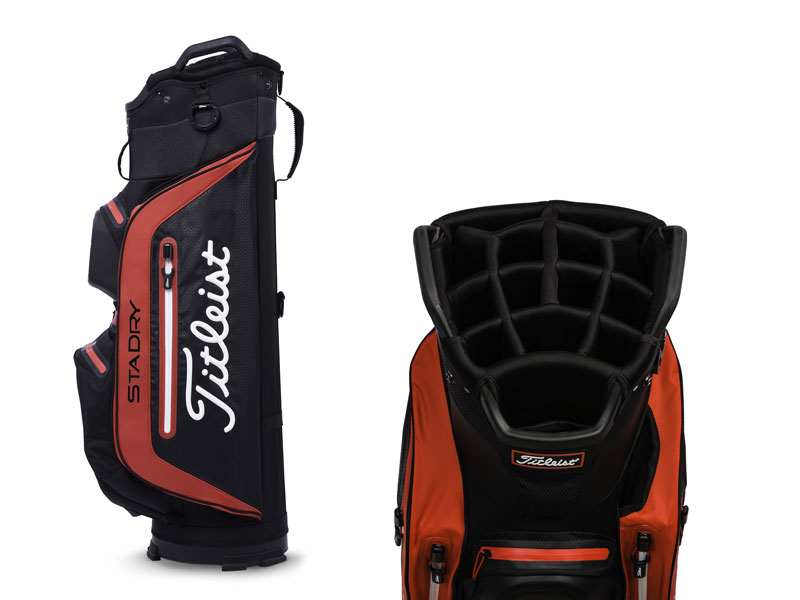 ffe22f1b39e 2018 Titleist Cart Bag Range Unveiled - Golf Monthly