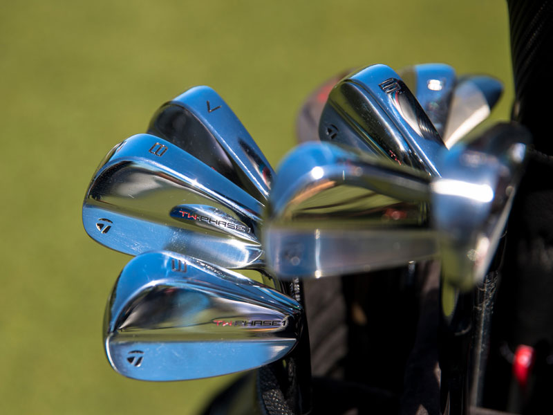 Tiger Woods' New Irons