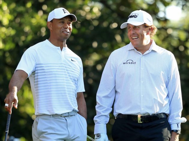 Woods Vs Mickelson Match To Raise Money For Charity