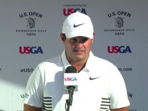 Patrick Reed US Open Interview