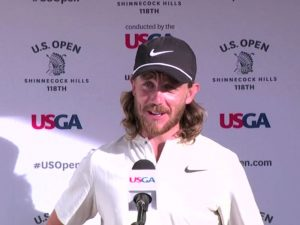Tommy Fleetwood US Open Interview