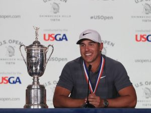 Brooks Koepka US Open Winner's Interview