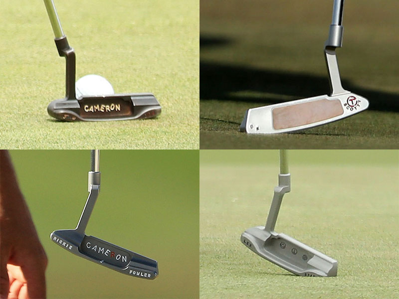 9 Tour Player Scotty Cameron Putters Golf Monthly