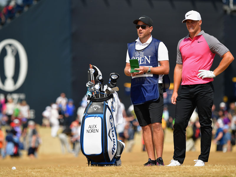 Alex Noren What's In The Bag