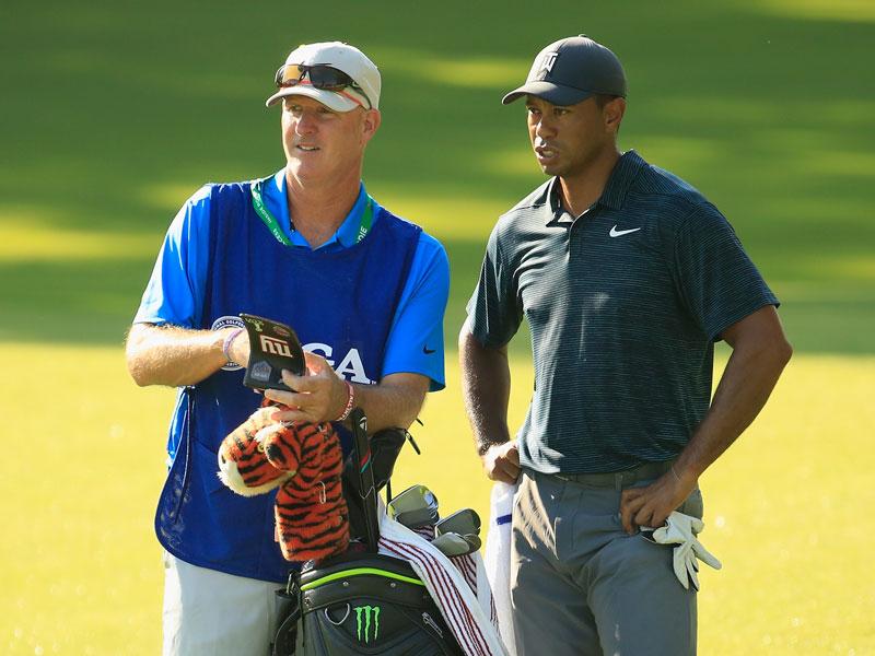 Tiger Woods' caddie