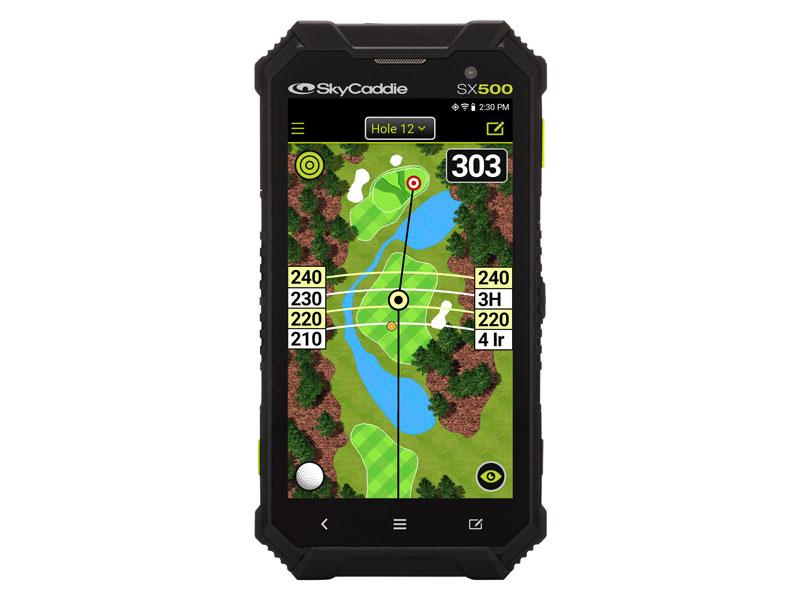 SkyCaddie SX500 GPS Revealed - Golf Monthly Gear News