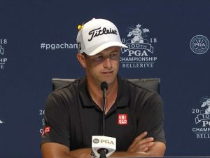 Adam Scott Post USPGA Championship Interview