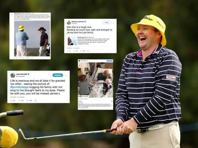 Golfing World Pays Tribute To Jarrod Lyle - Golf Monthly 61a98bfb817