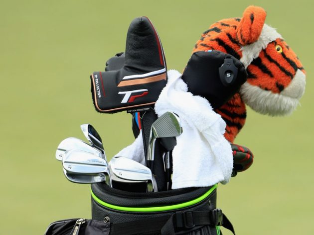 tiger woods what u0026 39 s in the bag
