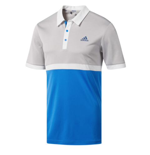 0891fe57 A simple but great looking design, the Advantage Heather block polo is made  from 100% polyester fabric which stretches to move with the body during the  golf ...